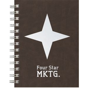 "Premium Leather - Medium NotePad (5""x7"")"