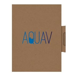 "EcoWrap™ Small NotePad with Pen (5""x7"")"