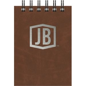 "Luxury Cover Series 4 - Small JotterPad w/Black Paperboard Back Cover (3.5""x5"")"