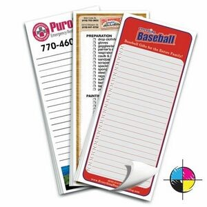 "3 1/2"" x 8"" Value Full-Color Notepads - 50 Sheets"