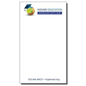 "4"" x 7"" Full-Color Notepads - 50 Sheets"