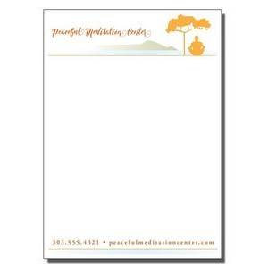 "5"" x 7"" Full-Color Notepads - 100 Sheets"