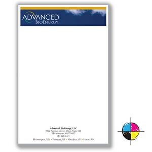 "5 1/2"" x 8 1/4"" Value Full-Color Notepads - 50 Sheets"