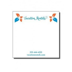 "3"" x 3"" Full-Color Notepads - 25 Sheets"