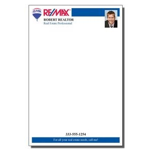"4"" x 6"" Full-Color Notepads - 50 Sheets"